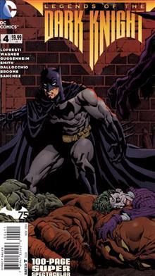 LEGENDS DARK KNIGHT 100 PAGE SUPER SPECTACULAR #4