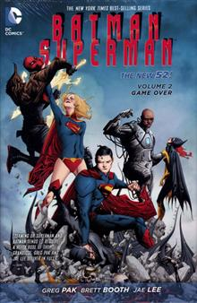 BATMAN SUPERMAN HC VOL 02 GAME OVER