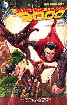 JUSTICE LEAGUE 3000 TP VOL 01 YESTERDAY LIVES (N52