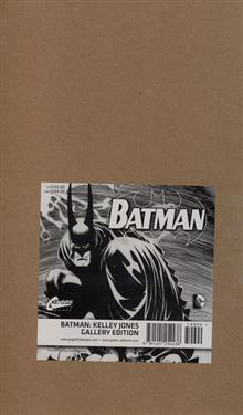 BATMAN KELLEY JONES GALLERY ED HC