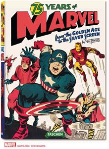 75 YEARS OF MARVEL GOLDEN AGE TO SILVER SCREEN HC (C: 0-1-1)