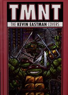 TMNT HC KEVIN EASTMAN COVERS 2011 - 2015