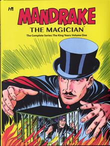 MANDRAKE THE MAGICIAN COMP KING YEARS HC VOL 01