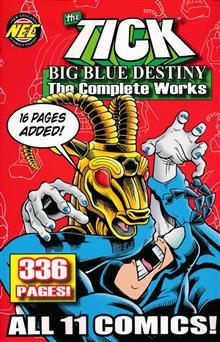 TICK BIG BLUE DESTINY COMPLETE WORKS TP
