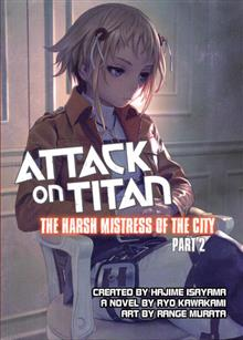 ATTACK ON TITAN HARSH MISTRESS OF CITY PART 2 NOVEL