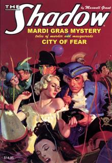 SHADOW DOUBLE NOVEL VOL 99 MARDI GRAS MYSTERY & CITY OF FEAR