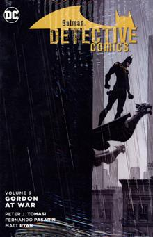 BATMAN DETECTIVE COMICS HC VOL 09 GORDON AT WAR