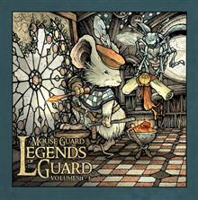 MOUSE GUARD LEGEND OF THE GUARD BOX SET