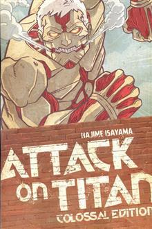 ATTACK ON TITAN COLOSSAL ED TP VOL 03