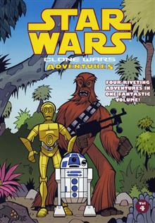 STAR WARS CLONE WARS ADVENTURES VOL 4 TP (C: 3)