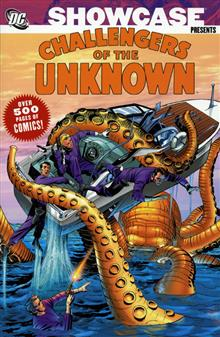 SHOWCASE CHALLENGERS OF THE UNKNOWN VOL 1 TP