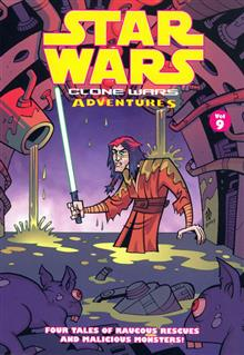 STAR WARS CLONE WARS ADVENTURES VOL 9 TP