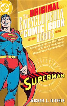 ENCYCLOPEDIA OF COMICBOOK HEROES VOL 3 SUPERMAN