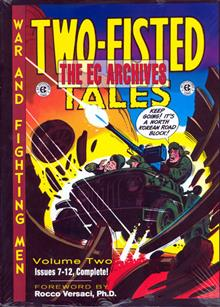EC ARCHIVES TWO-FISTED TALES VOL 2 HC