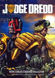 JUDGE DREDD CARLOS EZQUERRA COLLECTION TP