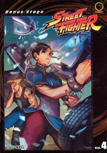 STREET FIGHTER VOL 4 BONUS STAGE TP