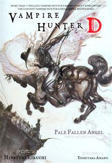 VAMPIRE HUNTER D NOVEL VOL 11 PALE FALLEN ANGELS P