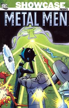 SHOWCASE PRESENTS METAL MEN TP VOL 02