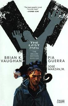 Y THE LAST MAN DELUXE EDITION VOL 1 HC (MR)