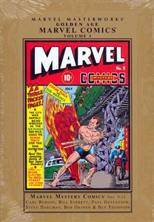 MMW GOLDEN AGE MARVEL COMICS HC VOL 03