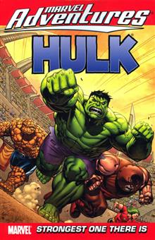 MARVEL ADVENTURES HULK TP VOL 03 STRONGEST DIGEST