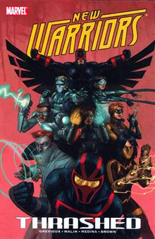 NEW WARRIORS TP VOL 02 THRASHED
