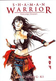 SHAMAN WARRIOR TP VOL 08