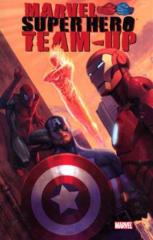 MARVEL SUPERHERO TEAM UP TP
