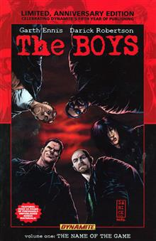 BOYS VOL 1 NAME OF THE GAME LTD ED HC (MR)