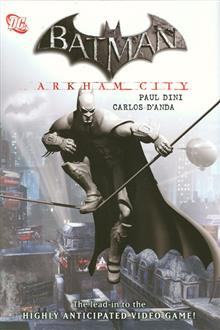 BATMAN ARKHAM CITY HC