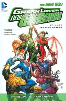 GREEN LANTERN NEW GUARDIANS HC VOL 01 RING BEARER