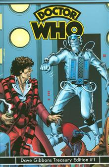 DOCTOR WHO DAVE GIBBONS TREASURY ED #1