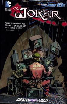 JOKER DEATH OF THE FAMILY HC (N52)