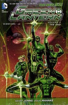 GREEN LANTERN HC VOL 03 THE END (N52)