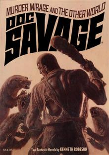 DOC SAVAGE DOUBLE NOVEL VOL 27 BAMA VAR