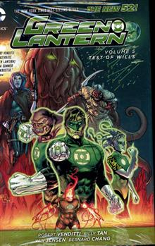 GREEN LANTERN HC VOL 05 TEST OF WILLS (N52)