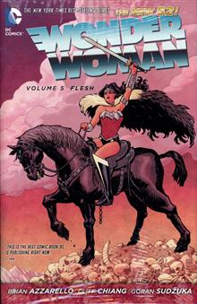 WONDER WOMAN HC VOL 05 FLESH (N52)