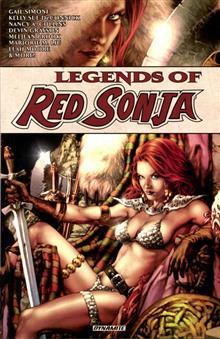 LEGENDS OF RED SONJA TP VOL 01