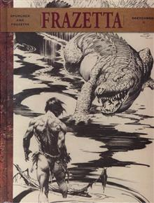 FRAZETTA SKETCHBOOK II HC