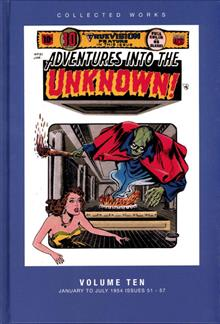 ACG COLL WORKS ADV INTO UNKNOWN HC VOL 10