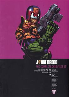 JUDGE DREDD COMP CASE FILES TP VOL 25