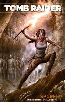 TOMB RAIDER 2016 TP VOL 01 SPORE