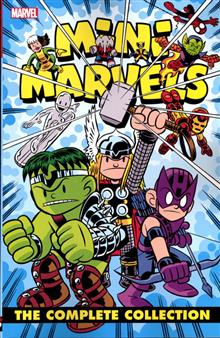 MINI MARVELS COMPLETE COLLECTION TP NEW PTG
