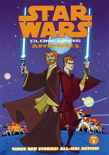 STAR WARS CLONE WARS ADVENTURES VOL 1 TP
