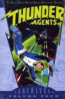 THUNDER AGENTS ARCHIVES VOL 4 HC
