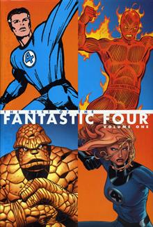 BEST OF THE FANTASTIC FOUR VOL 1 HC