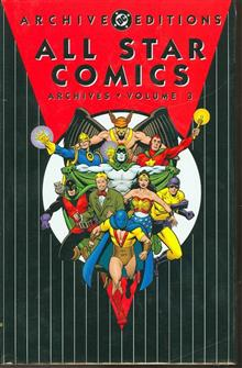 ALL STAR COMICS ARCHIVES VOL 3