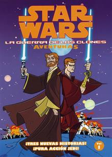 STAR WARS CLONE WARS ADVENTURES VOL 1 SPANISH ED