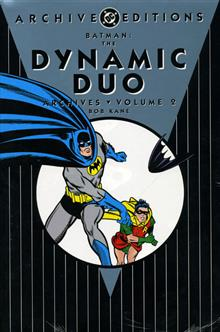 BATMAN DYNAMIC DUO ARCHIVES VOL 2 HC