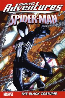 MARVEL ADVENTURES SPIDER-MAN VOL 6 BLACK COSTUME D